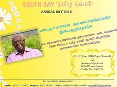 South Bay Tamil Kalvis Annual Day Celebrations and Pattimandram by South Bay Tamil Kalvi (SBTK)