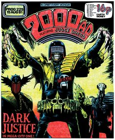 The art of Judge Dredd: 20 killer 2000 AD covers: Page 2   Creative Bloq