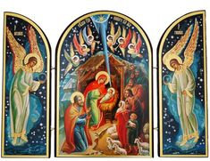 Nativity Scene Triptych * Find out more about the great product at the image link.