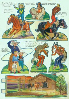 Gene Autry Cut out Book #3482 104- - Bobe Green - Picasa Web Albums