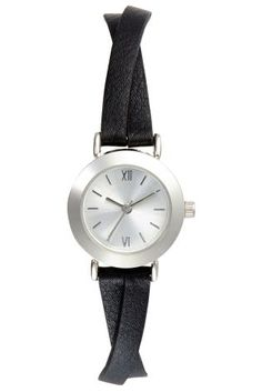 Black Crossover Strap Watch from Next