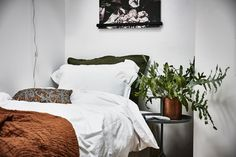 This newly built attic apartment showcases a functional open floor plan, located in the laid-back neighborhood of Linnéstaden, in Gothenburg, Sweden. Cabana, Apartment Showcase, Attic Apartment, Duravit, Scandinavian Home, Open Floor, Decoration, Bed Pillows, Pillow Cases