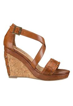 Rosie braided wedge with studs