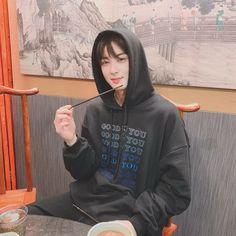 Image may contain: 1 person, sitting Kim Myungjun, Park Jin Woo, Cha Eunwoo Astro, Astro Wallpaper, Lee Dong Min, Astro Fandom Name, Sanha, Kdrama Actors, Minhyuk