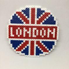 Drink Coaster London Hama Beads by TCAshop