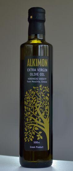 Alkimon - Greek extra virgin olive oil of the Koroneiki variety, from Messenia in the Peloponnese
