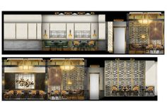 The new Raging Bull Chophouse & Bar, set to open in March is yet another masterpiece by New York-based design firm AvroKO. Architecture Sketchbook, Architecture Design, Filipino Interior Design, Jewelry Store Design, Interior Design Presentation, Bedroom Door Design, Raging Bull, Commercial Interior Design, Photoshop