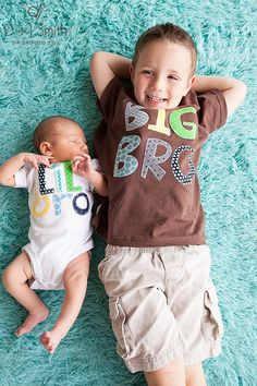 Big Brother Little Brother Little Sister Big Sister sibling shirts onesies set gift baby shower photo prop Patches and Puppies on Etsy, $46.95