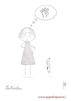 #Lenticchia e la #matematica (#illustrazioni per #bambini)