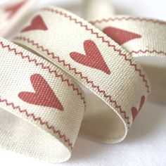 Love Heart Ribbon by Le Trousseau, the perfect gift for Explore more unique gifts in our curated marketplace. Darning, Blue Ribbon, Thank You Gifts, Love Heart, Little Gifts, Wedding Bouquets, Unique Gifts, Burgundy, Wedding Day