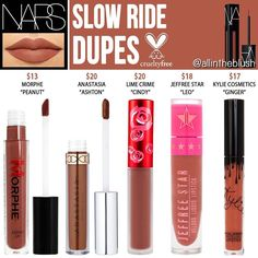 (@allintheblush) on Instagram: SLOW RIDE CRUELTY-FREE DUPES✨