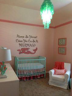 Project Nursery - Mermaid Chic Nursery