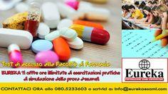 Ti aspettiamo!  #Eureka #eurekaesami #labuonascuola #preparazione #concentrazione #esami #test #farmacia #università