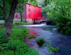 old red mill in missouri we have been here it beautiful can't wait to go back.