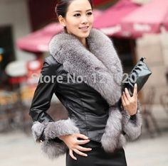 Cheap Leather & Suede on Sale at Bargain Price, Buy Quality Leather & Suede from China Leather & Suede Suppliers at Aliexpress.com:1,Thickness:Standard 2,Gender:Women 3,Sleeve Length:Full 4,Type:Slim 5,Collar:With Raccoon Dog Fur  Collar