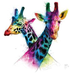 Savannah Canvas Artwork by Patrice Murciano Canvas Artwork, Canvas Art Prints, Artwork Prints, Murciano Art, Giraffe Art, Giraffes, Supernatural Jensen, Unusual Animals, Ipad Art
