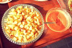 IMG_55252 Tapas, Good Food, Fun Food, Cantaloupe, Appetizers, Cheese, Fruit, Recipes, Funny Food