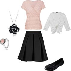 """Classy Pink Elegance"" by daughterofhisgrace on Polyvore"