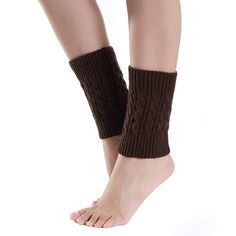 04c13385c 2018 FASHION 1PCS NEW WOMEN Short Knitting Socks Leg Warmers Boot Cover 9  colors FOR Wholesale