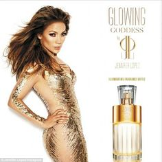 Promoting her perfume? Perhaps JLo was simply emulating her eighth fragrance Glowing Godde... http://dailym.ai/1f5GY6m#i-aa2f0e74