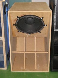 Professional Bass Bin Hog Scoop Soundsystem Plywood