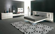 Como todos sabemos, la cama matrimonial es el centro de la habitación y el punto focal por excelencia en el dormitorio. Para quiene están buscando un diiseño simple que transmita paz y relax para …