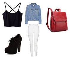 """""""Untitled #336"""" by happygirlavenue on Polyvore featuring Topshop, New Look and Acne Studios"""