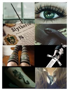 """Slytherin Forever"" by girl-crazy-284 ❤ liked on Polyvore featuring art and slytherin"