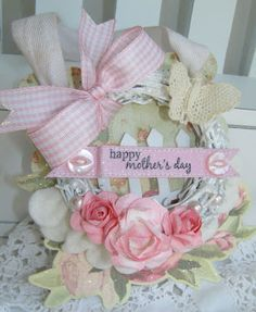 Mother's Day Mini Wreath