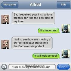 Alfred and Bruce