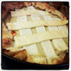 Potatoes and mozzarisella gateau by Francesca