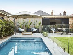 Good inspiration is sure to be inspired by who and everyone. Inspiration landscape pool is different from ilham pond. Swimming pool is a great place to entertain and have friends […] Backyard Pool Landscaping, Small Backyard Pools, Backyard Pool Designs, Outdoor Pool, Landscaping Ideas, Backyard Ideas, Acreage Landscaping, Privacy Landscaping, Pool Fence