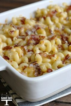 Four Cheese Bacon Mac- once you try this easy recipe you will never use a box again!