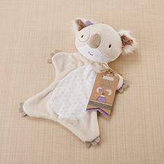 """Say """"G'day"""" to this two-in-one cuddly koala stuffed toy and lovey baby blanket. An Australian themed baby gift isn't complete without a koala baby blankie from Down Under! Baby Koala, Baby Lovies, Baby Baby, Koala Bears, Cuddles And Snuggles, Cuddling, Koala Craft, Koala Nursery, Baby Aspen"""