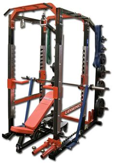 Pro Series Power Cage by Legend Fitness