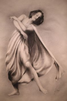 Isadora Duncan    by Damir Simic #dance    Maria via Modern Eden Gallery onto Dance your Heart out