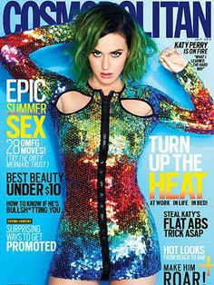 Best cover ever! Rainbow, sequins, and green hair