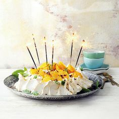 Recept - Pavlova met sinaasappel - Allerhande