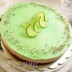 Sokerimuruja : Lime-juustokakku - rotinakakku