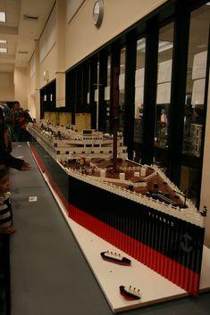 Lego Titanic | pic by kelita13 built by Scott Fowler