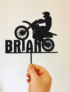 58 New ideas dirt bike cake topper birthday parties Dirt Bike Cakes, Dirt Bike Party, Motorcycle Party, Motorbike Cake, Motorcross Cake, Bolo Motocross, Bike Birthday Parties, Dirt Bike Birthday, Birthday Cake Toppers