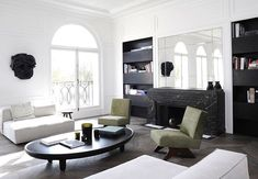 Paris Suburbs   Chic Apartment by Joseph Dirand