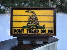 "The ""Mini Me"" Gadsden Dont Tread on Me Flag"