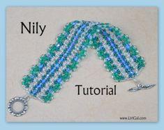 Connie Superduo and Swarovski Beadwork Bracelet PDF by Lirigal