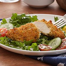 These delicious gluten free quinoa chicken tenders are so easy to make. Everyone will enjoy them!