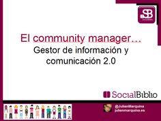 Mi primer pin es para compartir la portada de mi sesión de #SocialBiblio de mañana (15F)... :)