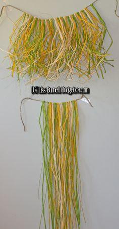 How to Make a Hula Skirt | Hawaiian Luau Decorations Dirt Cheap - Budget101.com