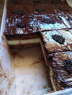 Νόστιμο κωκ ψυγείου! Ελαφρύ και πεντανόστιμο! Cookbook Recipes, Sweets Recipes, Baking Recipes, Chocolate Sweets, Love Chocolate, Pudding Desserts, Trifle, Greek Recipes, Confectionery