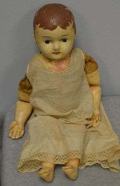 Antique Martha Chase Composition Doll With Cloth Stuffed Body   eBay