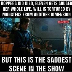 I wholeheartedly agree with this statement. #strangerthings